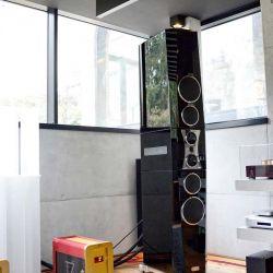 TIDAL La Assoluta in a picture-book bunker dream system