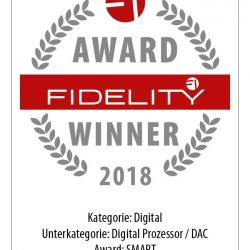 FIDELITY Award Winner 2018 Mutec MC-3+USB