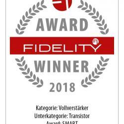 FIDELITY Award Winner 2018 NAD C368