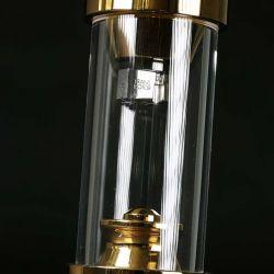Transrotor Tamino MC-Tonabnehmer - Bei Transrotor macht es Spaß, in die Röhre zu schauen: Wie üblich bei den Bergisch-Gladbachern, steckt auch das Tamino gut geschützt im transparenten Acryl-Zylinder.