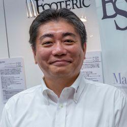 Tetsuya Kato, Entwicklungschef TEAC Corporation, ESOTERIC, Tokyo, Japan