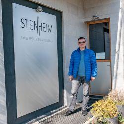 Stenheim und Jean-Pascal Panchard in der Schweiz