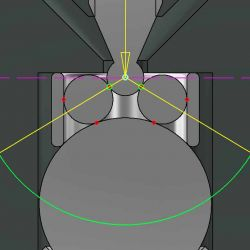 Genuin Audio Point Tonarm Detail