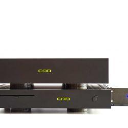 CAD Server-Streamer-Sourceplayer und Wandler CAD 1543 DAC MKII und CAT (CAD Audio Transport)