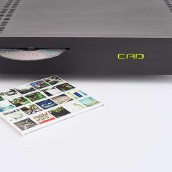 CAD Server-Streamer-Sourceplayer und Wandler CAD 1543 DAC MKII und CAT (CAD Audio Transport) - Das CD-Rippen geschieht grundsätzlich vollautomatisch. Ab Werk wird im kompressionsfreien WAV-Format gerippt.