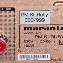 Marantz Vollverstärker PM-KI Ruby und SACD-Player SA-KI Ruby