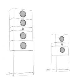 Lyravox Karl All-In-One Komplettanlage Skizze