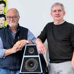 Peter McGrath und Bill Peugh von Wilson Audio mit der Sasha DAW im FIDELITY Hörraum