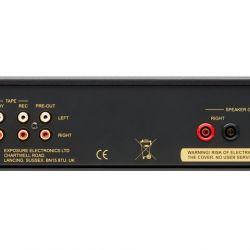 Exposute 2510 Integrated Amplifier Black Rear