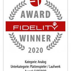 FIDELITY Award 2020 Bergmann Magne