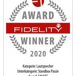 FIDELITY Award 2020 Inklang 13.3 AdvancedLine