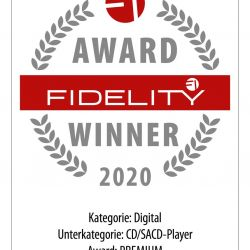 FIDELITY Award 2020 Marantz SA-KI Ruby