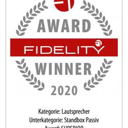 FIDELITY Award 2020 Burmester B18