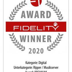 FIDELITY Award 2020 Melco N10