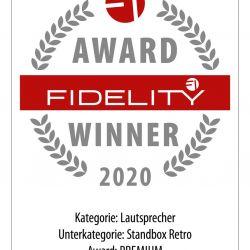FIDELITY Award 2020 Nubert nuPyramide 717