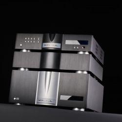Krell Illusion Vorverstärker und Duo 175 Stereo Endverstärker