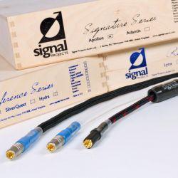 Signal Projects SilverQuest, Hydra und Apollon Cinchkabel