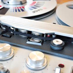 Revox PR99 Tonband vor Tonköpfen